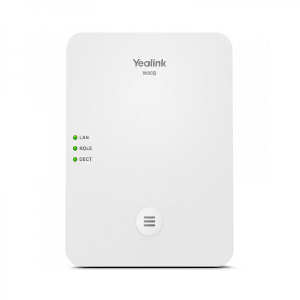 YEALINK W80B Station de base multicellulaire DECT IP sans fil