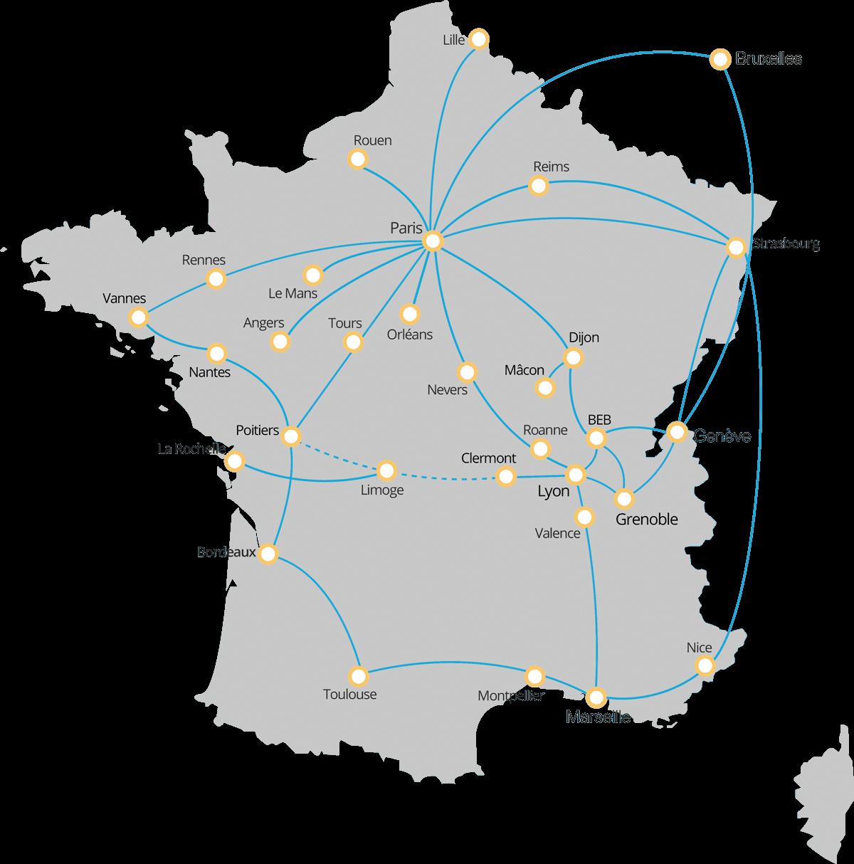 réseau de collecte TCT télécom