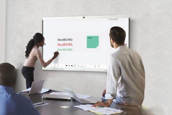Tableau blanc interactif exceptionnel à très faible latence