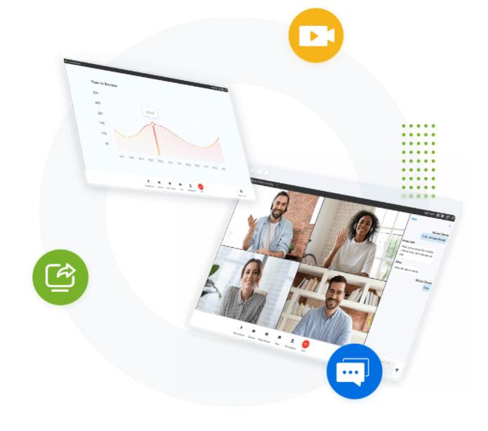 Visio conférence Softphone Linkus Yeastar - TCT Télécom